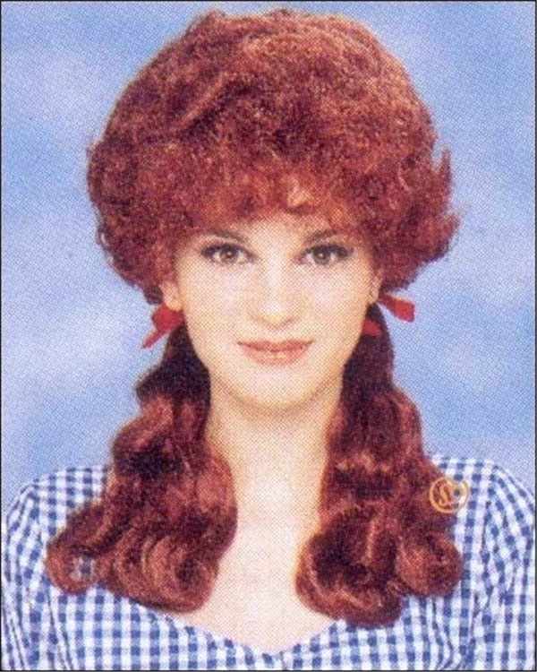 Brown 360 Lace Front Wig Farmer's Daughter Costume Wig By Franco
