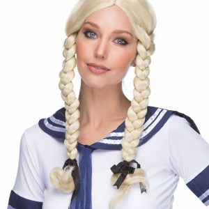Blonde Drag Wig Indian Girl By Sepia Synthetic Costume Wigs