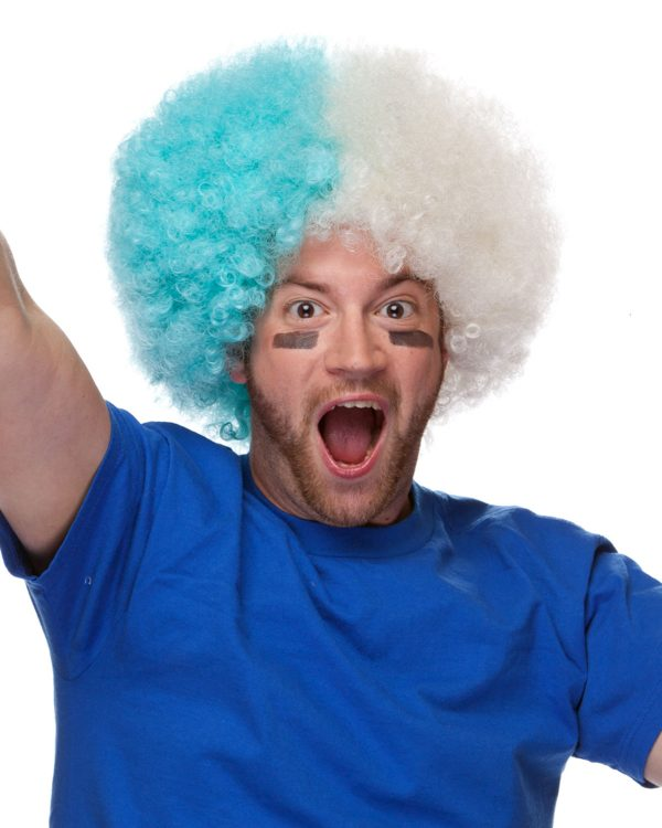 High Quality Clown Synthetic Combo Afro By Sepia Costume Wigs