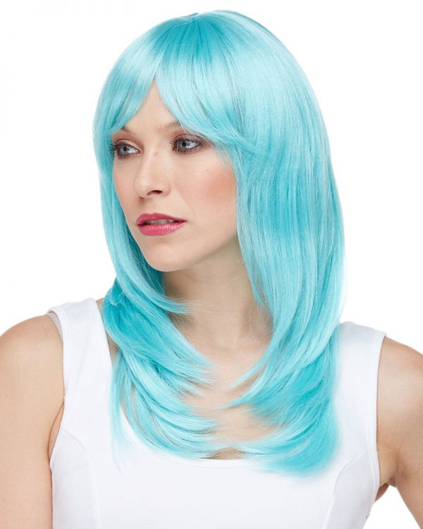 Rainbow Synthetic Outre Sherbert By Sepia Costume Wigs