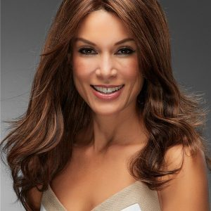 Women's Clown Remy Human Hair Lace Front Wig Hand-tied