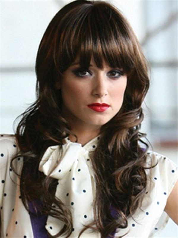 Brown Lolita Cowgirl Haute Synthetic Wig Basic Cap