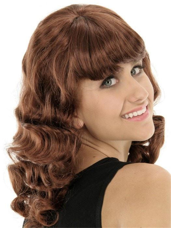 Colored Costume Synthetic Wig Basic Cap
