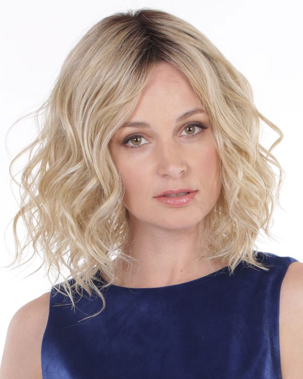 Blonde Wig Catalogs Lace Front & Monofilament Part Synthetic Wig By Belle Tress