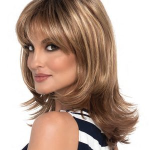 Brown Custom Wig Company Petite Nadia Monofilament Part Wig By Envy