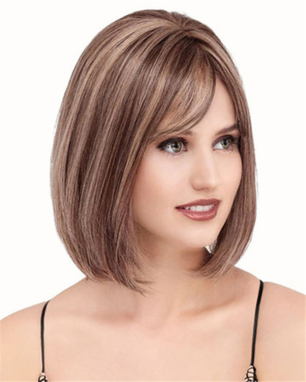Brown Wig Salon Near Me Lace Front & Monofilament Human Hair Wig By Louis Ferre