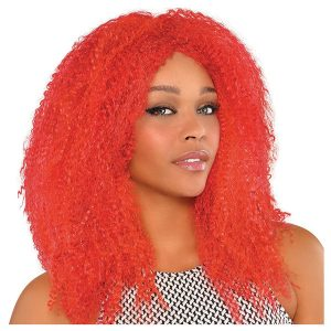 Red Party City Hot Fly Girl Wigs