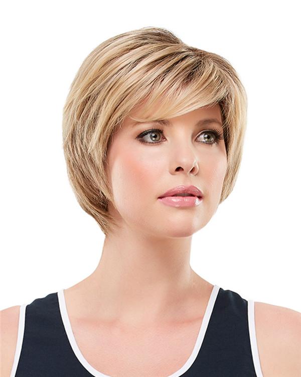 Blonde Qvc Judi Monofilament Synthetic Wig By Jon Renau