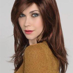 Red Vogue Wig By Ellen Wille Monofilament