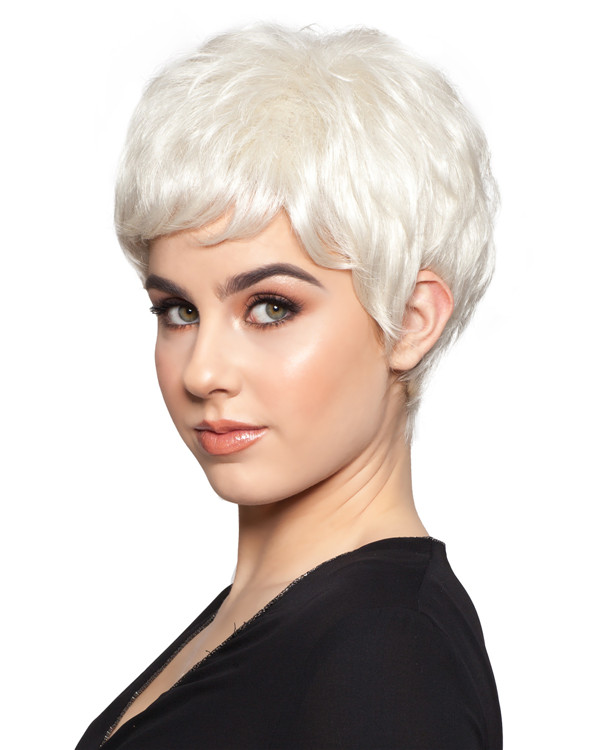 White Revlon Wigs Jean Synthetic Wig By Wig Pro