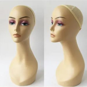 Wig Display Realistic Plastic Women Head