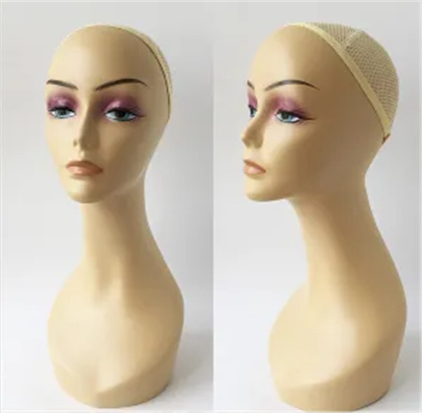 Wig Display Realistic Plastic Women Head