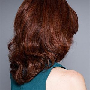 Black Monofilament Human Hair Lace Front Wig