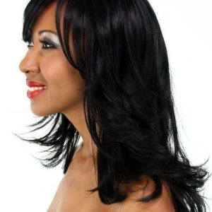 Black Women's Synthetic Wig Basic Cap
