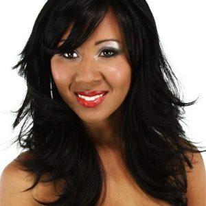 Black Women's Synthetic Wig Basic Cap