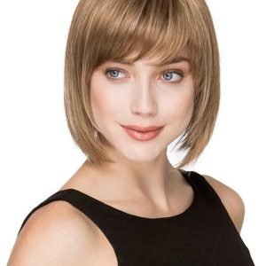 Blonde Rooted Synthetic Wig Mono Crown
