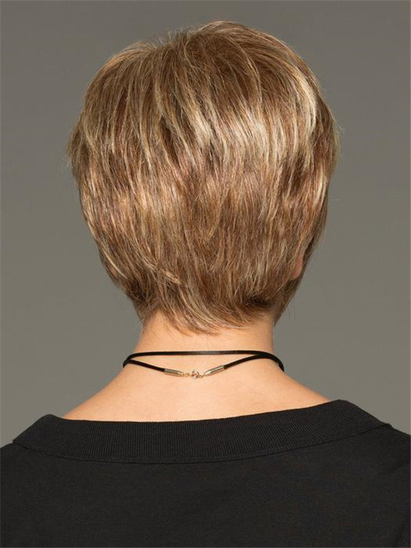 Blonde Cinch Short Synthetic Wig Basic Cap