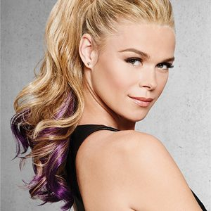 Colored All Hairpieces Hf Synthetic Ponytail Wrap-around