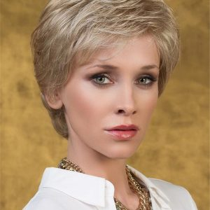 Blonde Pixie Synthetic Lace Front Wig Hand-Tied