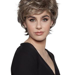 Blonde Synthetic Wig Basic Cap