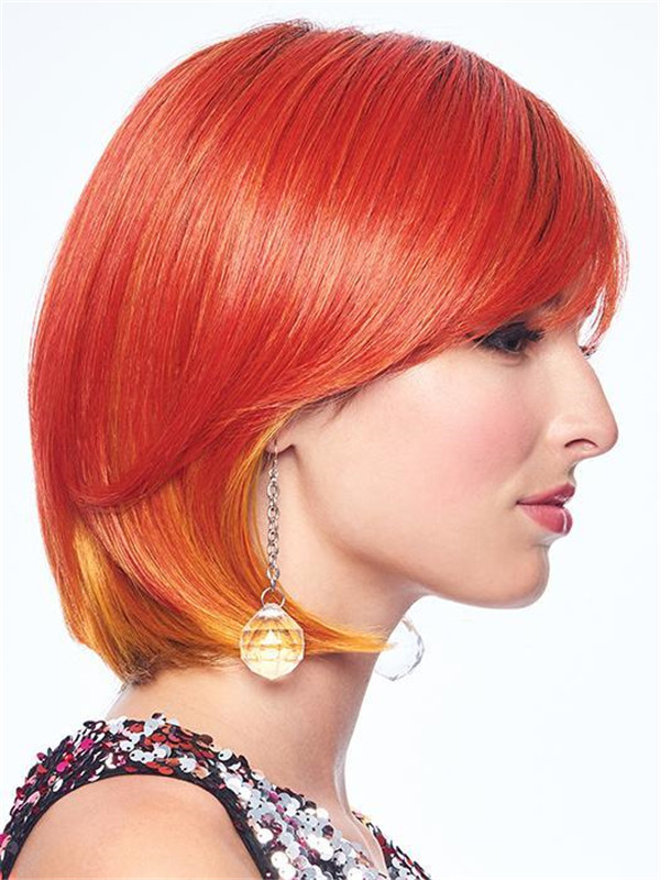 Colored New Arrivals Hf Synthetic Wig Basic Cap
