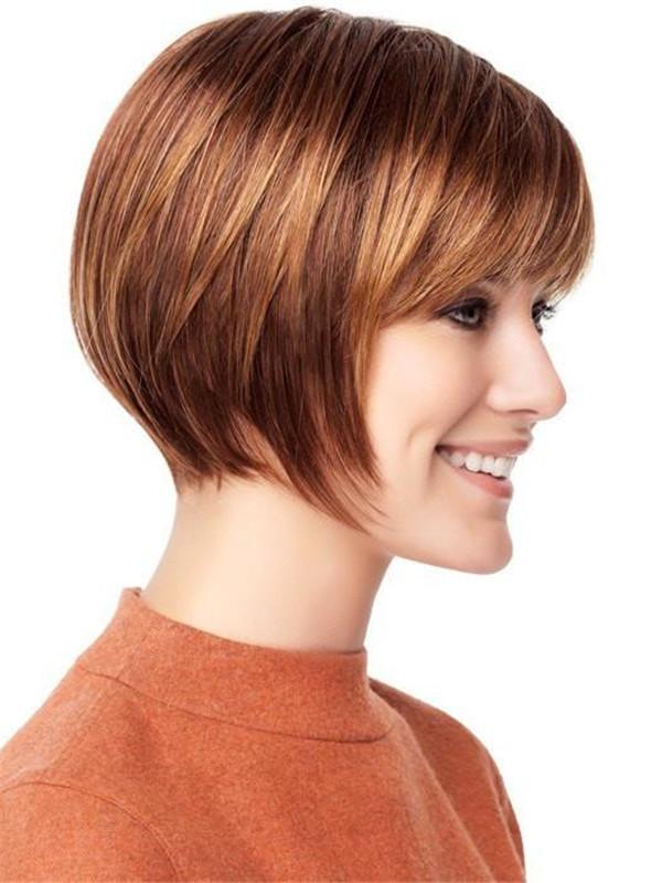 Gray Folly Synthetic Wig Basic Cap