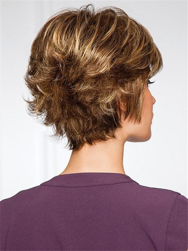 Gray Gala Synthetic Wig Basic Cap