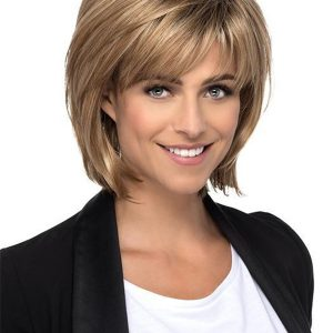 Black Heather Synthetic Wig Basic Cap For Women