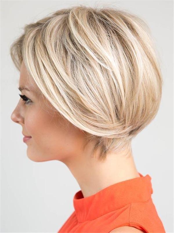 Black Brunette Synthetic Lace Front Wig Basic Cap