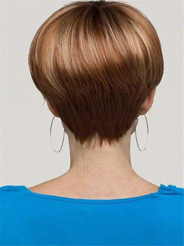 Gray Monofilament Joanne Synthetic Wig Mono Top