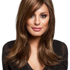 Blonde Rooted Synthetic Monofilament Lace Front Wig Mono Top