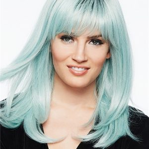 Colored HF Synthetic Colored Wig Basic Cap