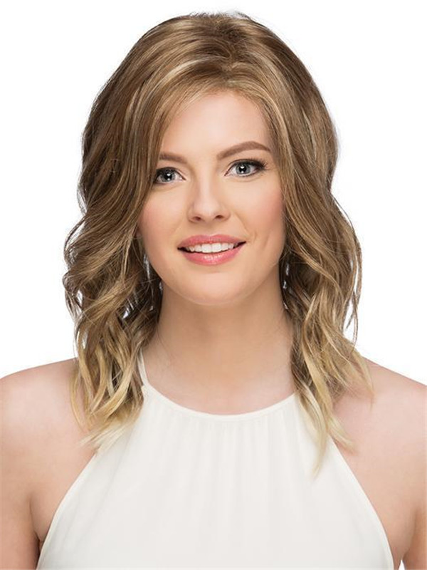 Red New Arrivals Synthetic Lace Front Wig