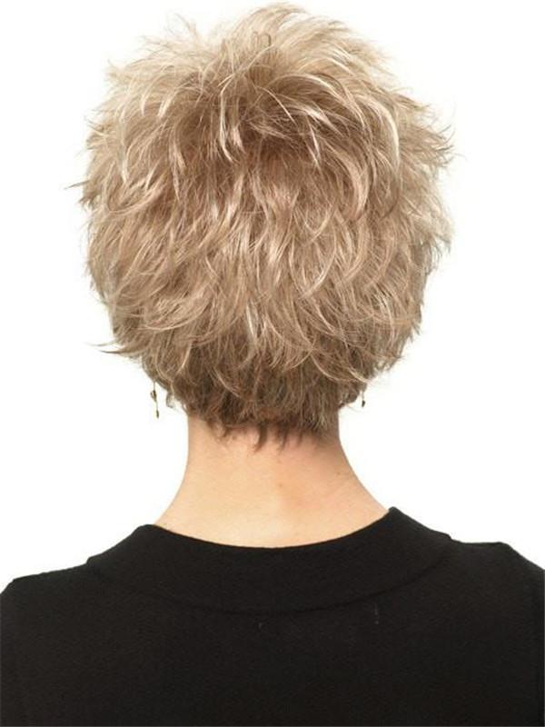 Blonde Perk Synthetic Wig Basic Cap
