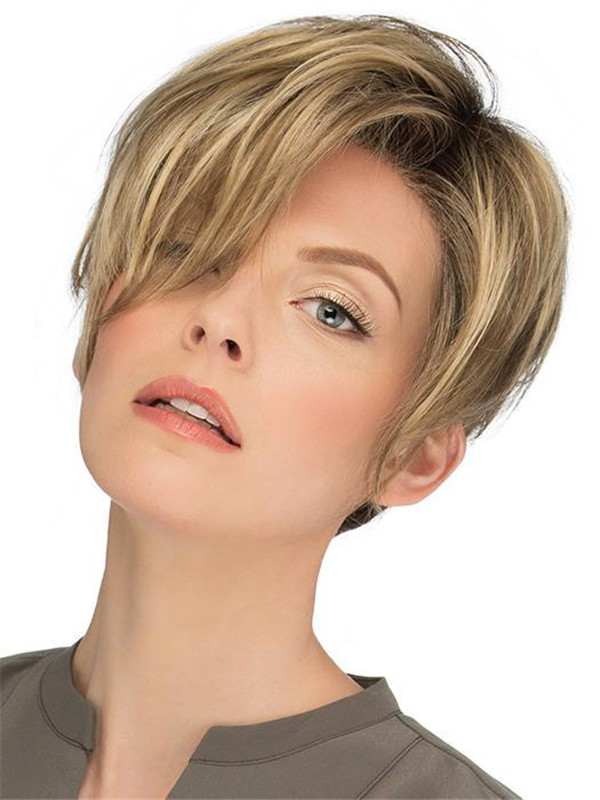 Blonde New Arrivals Synthetic Lace Front Wig