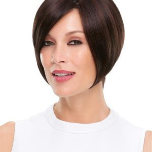 Blonde Rooted Synthetic Wig Mono Top