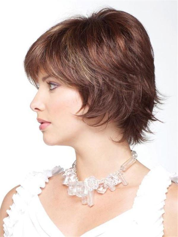 Blonde Monofilament Synthetic Wig Mono Top