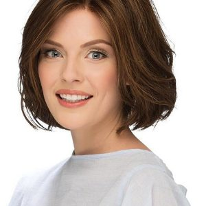 Red Brunette Bob Synthetic Lace Front Wig