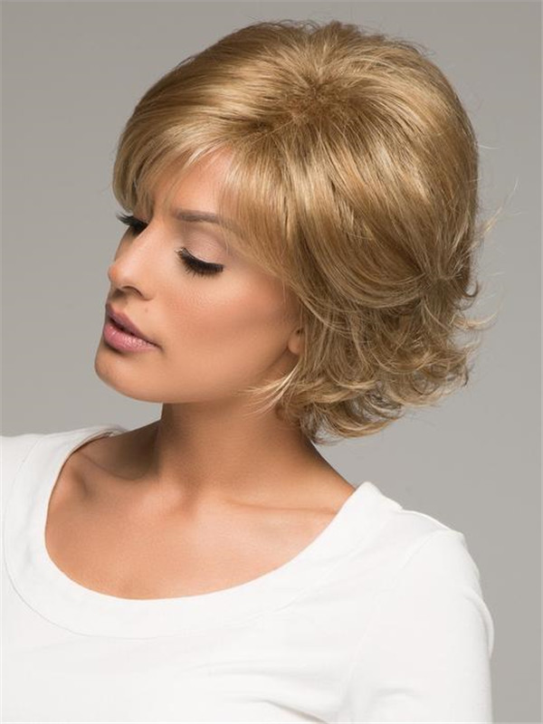 Gray Sandie Synthetic Wig Basic Cap