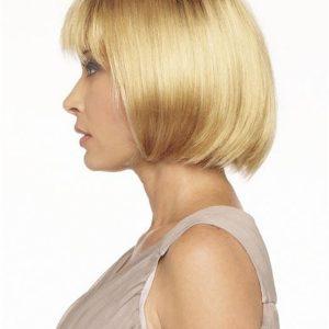 Black Brunette Synthetic Wig Basic Cap