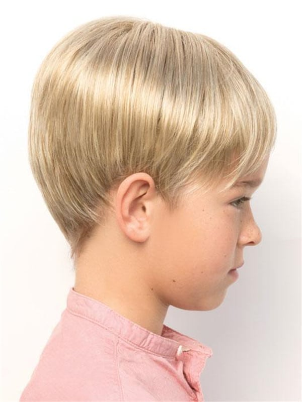 Red Kids' Brunette Synthetic Lace Front Wig