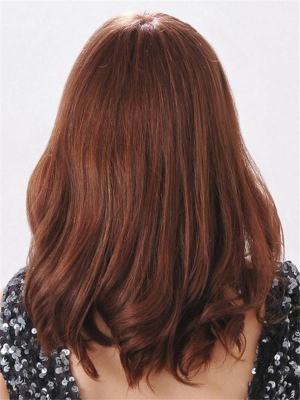 Red Adelle (HT) Human Hair Wig Hand-Tied