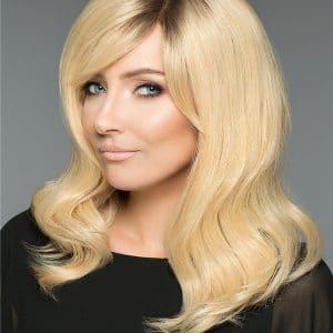 Blonde Human Hair Wig Mono Top