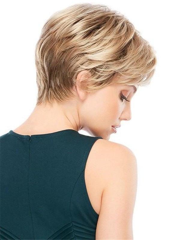 Blonde Allure Mono Synthetic Wig Mono Top
