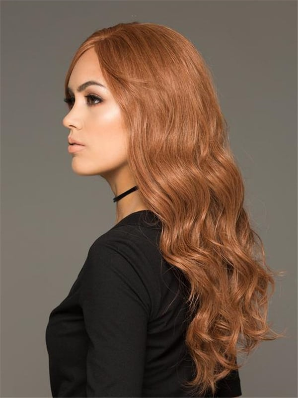 Red Amber HT 100% Human Hair Wig Hand-Tied