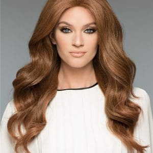 Black Amber H-Mono Human Hair Wig Mono Top
