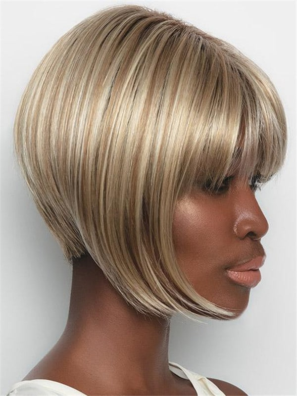 Blonde Angie Synthetic Wig Basic Cap