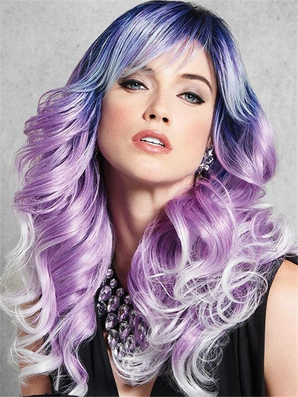 Arctic Hf Synthetic Wig Basic Cap Curly For Women