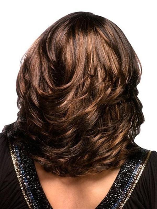Blonde Autumn Synthetic Wig Basic Cap