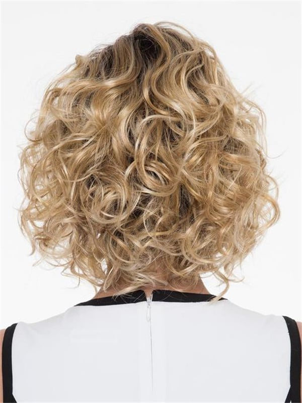 Blonde And Black Bianca Synthetic Wig Basic Cap For Women